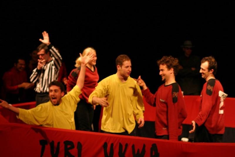 Match CANIF : ImproDisiaque - Turi (Rennes)